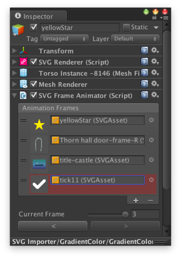 Documentation | SVG Importer | Vector Graphics Plugin for Unity3D